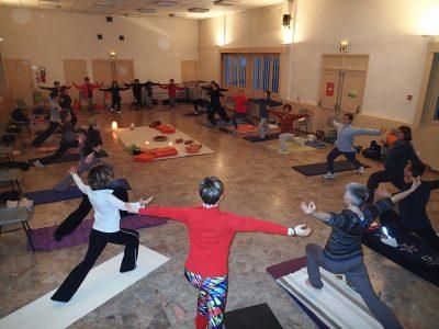 Cours de yoga adulte